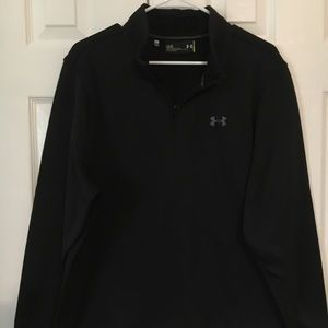 Under Armour 3/4 Zip Black Jacket